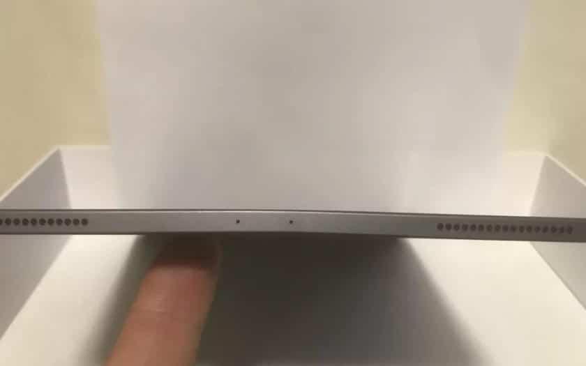 iPad Pro tordu
