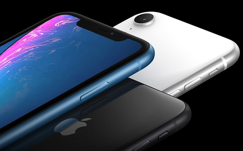 iphone xr surpasse galaxy S9+ dxomark