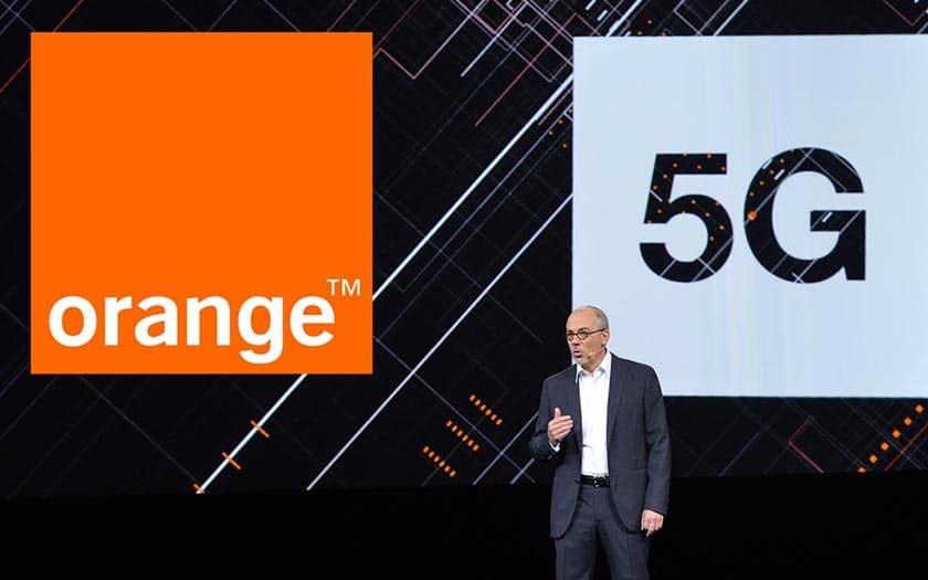 orange 5G villes france 2019