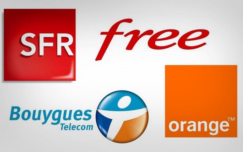 orange free mobile bouygues sfr