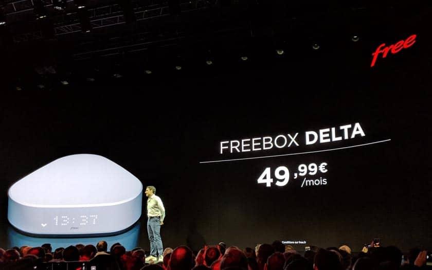 prix abonnement Freebox Delta et One