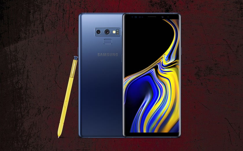 samsung galaxy note9 ecran