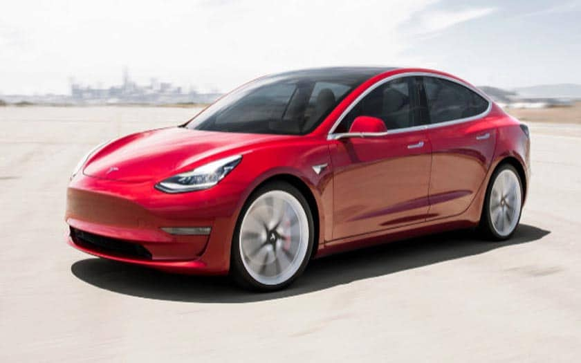 tesla model 3 livraison en france en f vrier 2019 voici les prix phonandroid. Black Bedroom Furniture Sets. Home Design Ideas