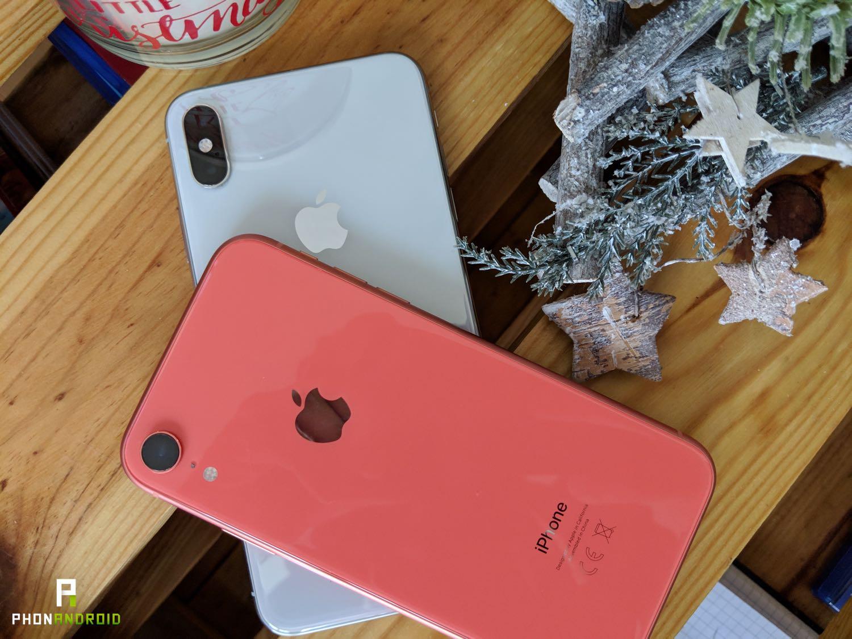 test iPhone xr fiche technique