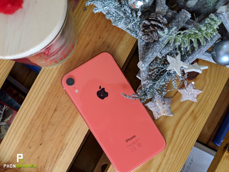 test iPhone xr prix