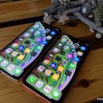 test iPhone xr xs max ecran