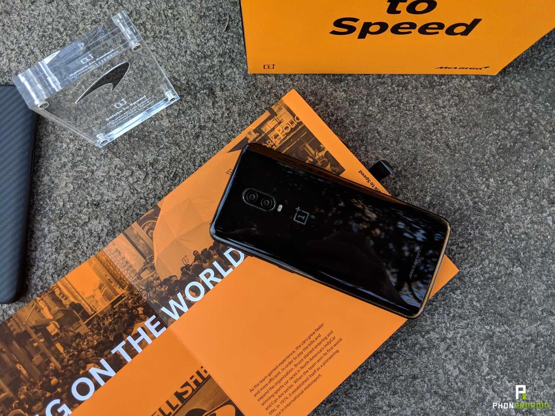 test oneplus 6t McLaren edition date sortie