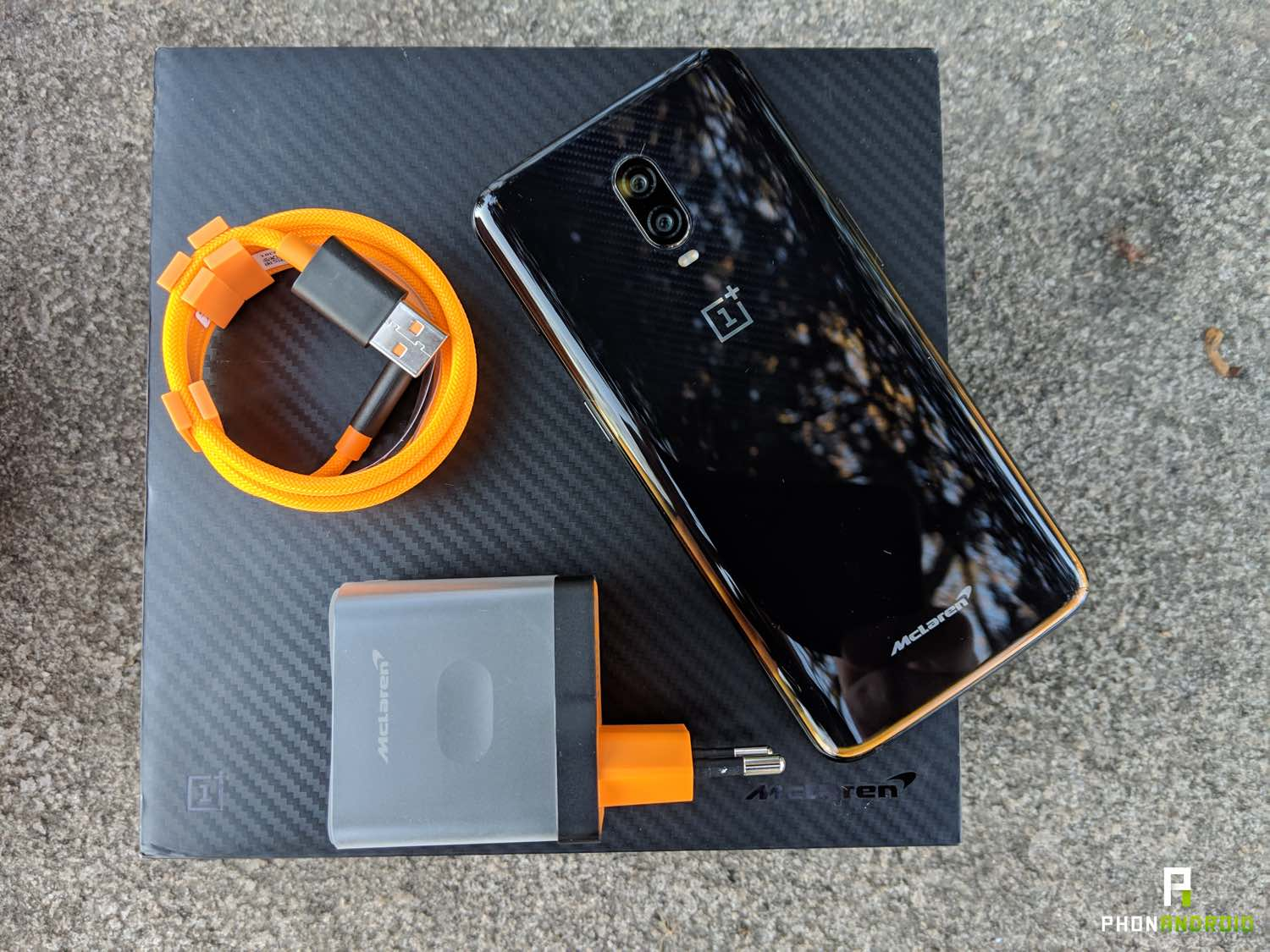 test oneplus 6t McLaren edition warp charge