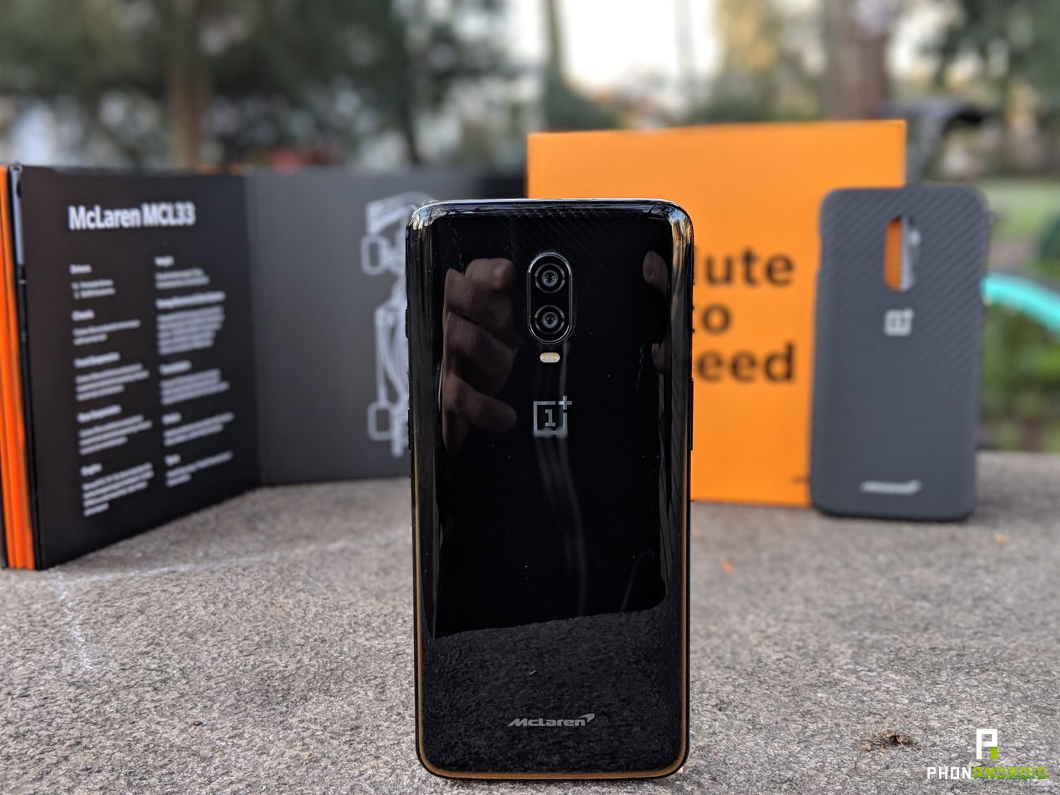 test oneplus 6t McLaren edition