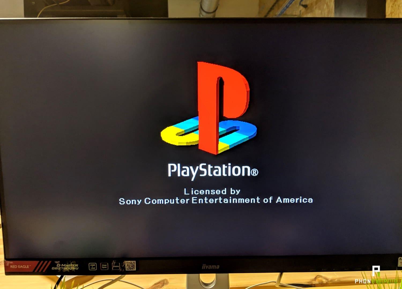 test playstation classique logo
