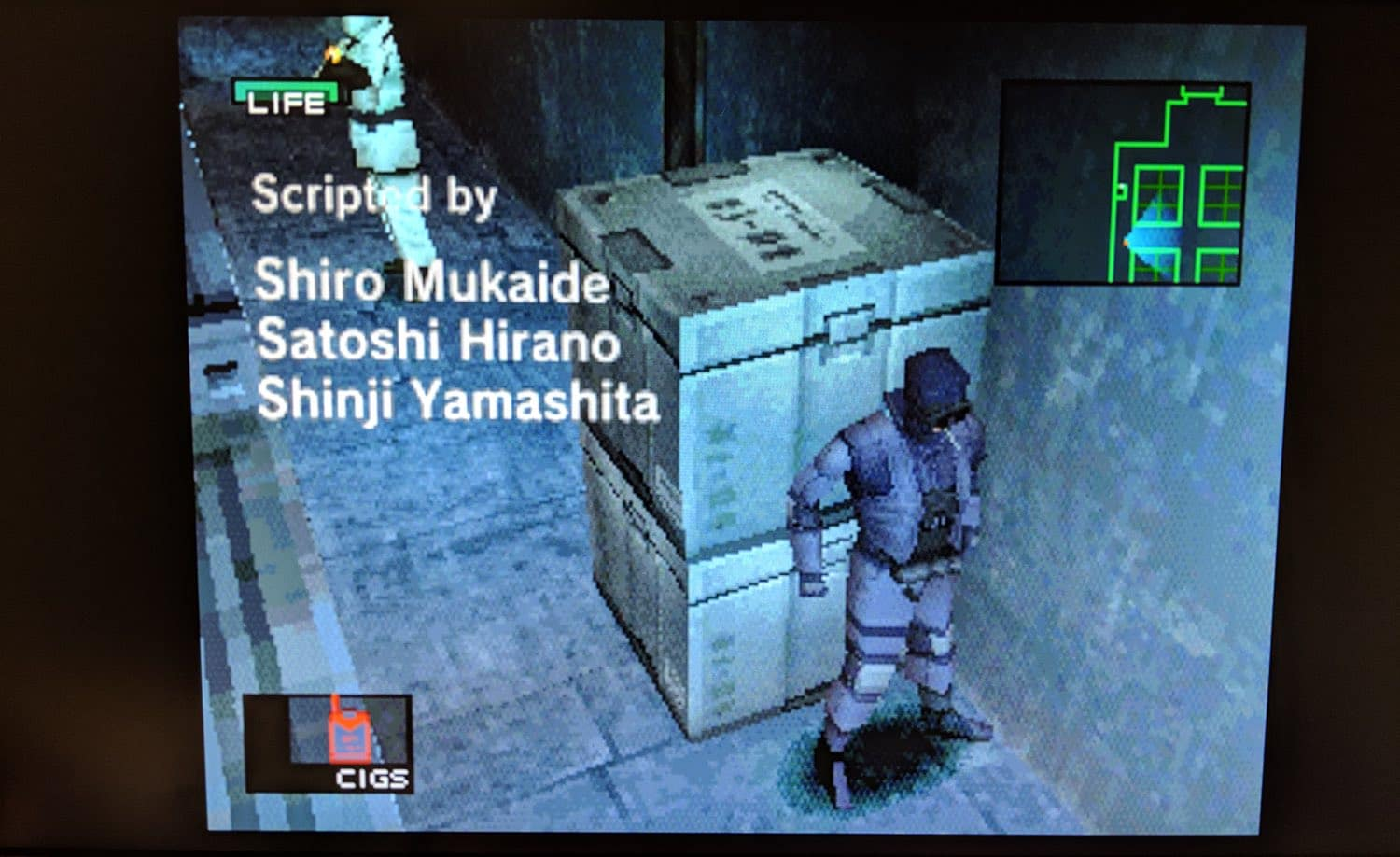 test playstation classique metal gear solid