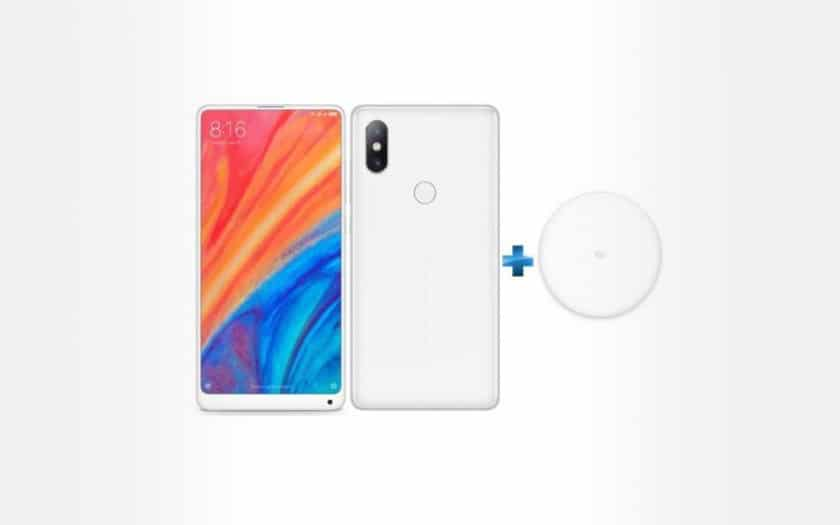 xiomi mi mix 2S + chargeur induction