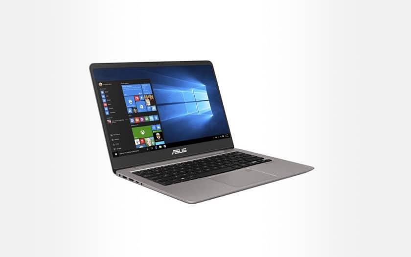 ASUS - ZenBook UX410UA-GV596T - Gris Quartz