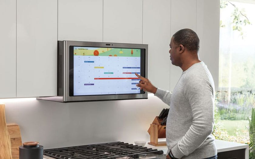 Ge Kitchen Hub, un écran intelligent pour la cuisine