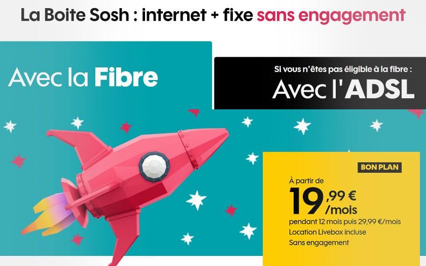 abonnement internet fibre sosh