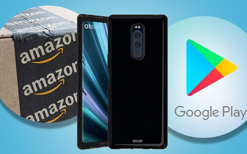 amazon defend gaspiller google menage play store sony xperia xz4 plus secret