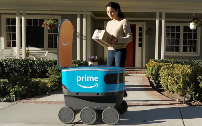 Amazon Scout, le robot livraison