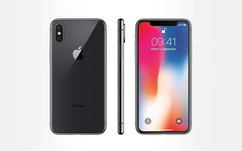 soldes apple iphone x smartphone 769 99 sur cdiscount. Black Bedroom Furniture Sets. Home Design Ideas