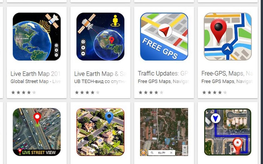applications gps android inondent google maps pubs