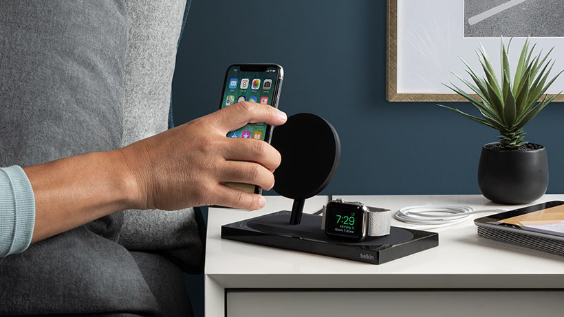 Belkin lance BoostUp Wireless, le Airpower qu'Apple n'a pas su sortir