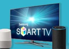 ces 2019 samsung smart tv alexa google assistant