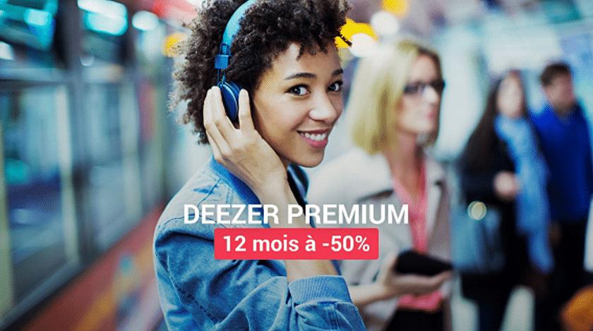 deezer premium promotion vente privee