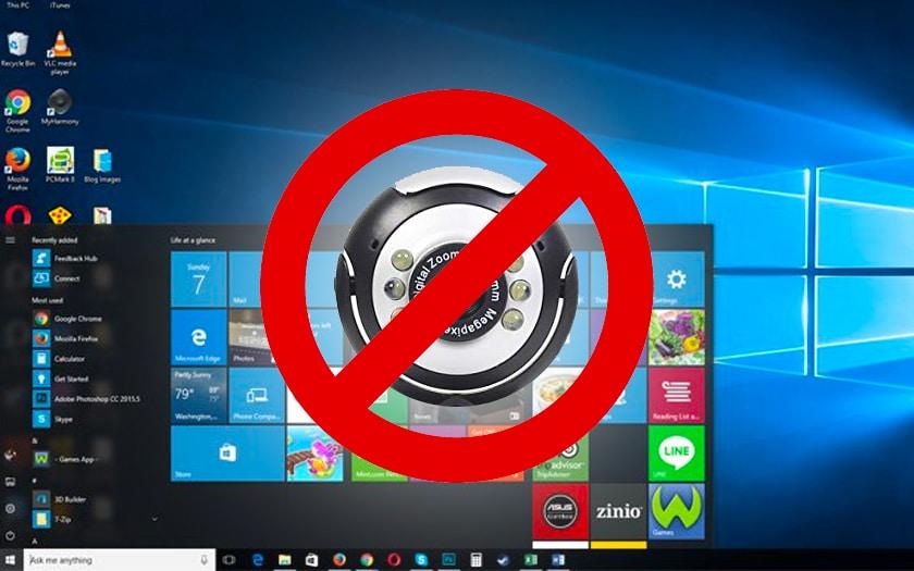 Comment désactiver la webcam dans Windows 10