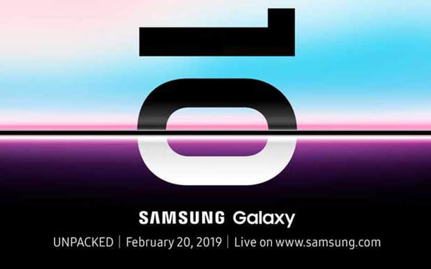 galaxy S10 presentation 20 fevrier 2019