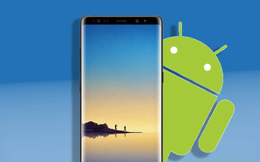 galaxy note 8 mise jour android pie