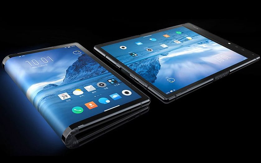 galaxy x smartphone pliable triple capteur photo galaxy S10