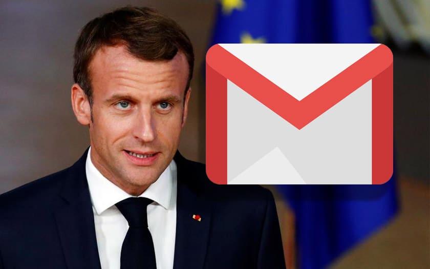 gmail Emmanuel macron
