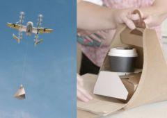 Google livre du café par drone