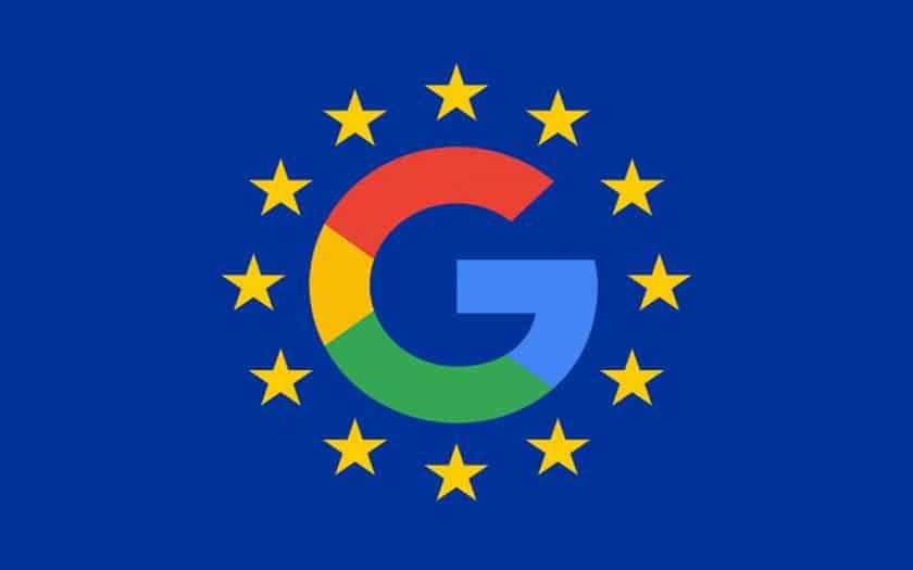 google ue amende
