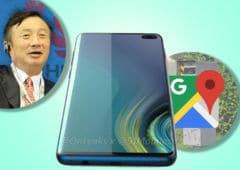 googlemaps radars galaxy s10 recharge rapide huawei espion chinois