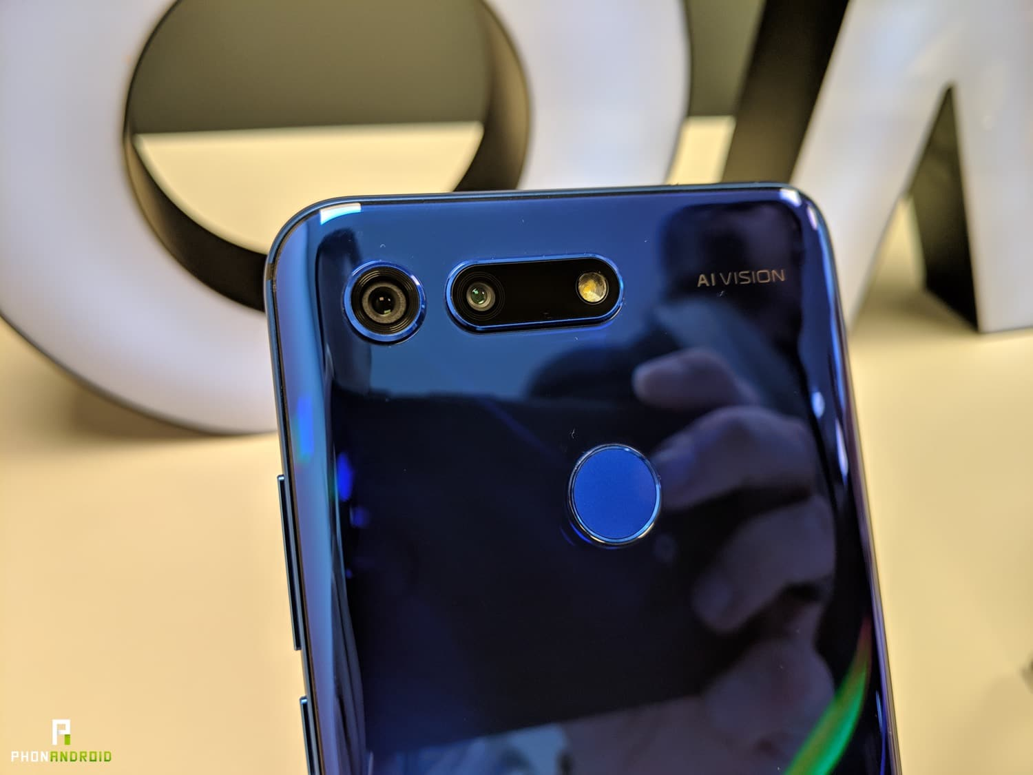 honor view 20 prise en main appareil photo
