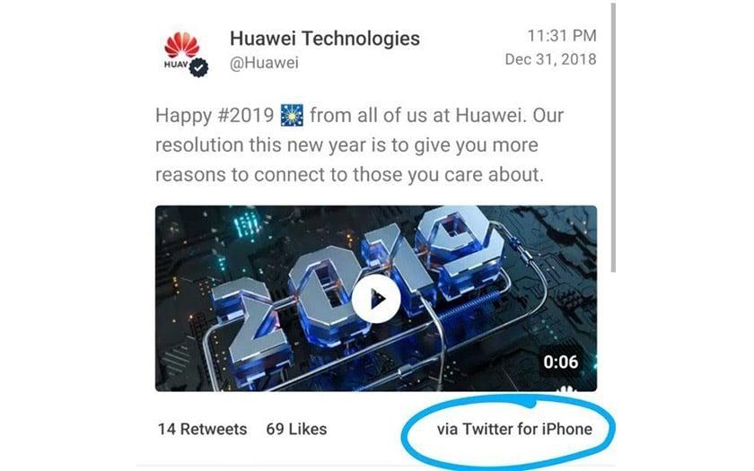 huawei bonne année iphone