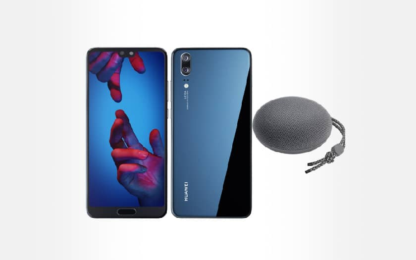 huawei P20 + enceinte bluetooth soldes hiver 2019