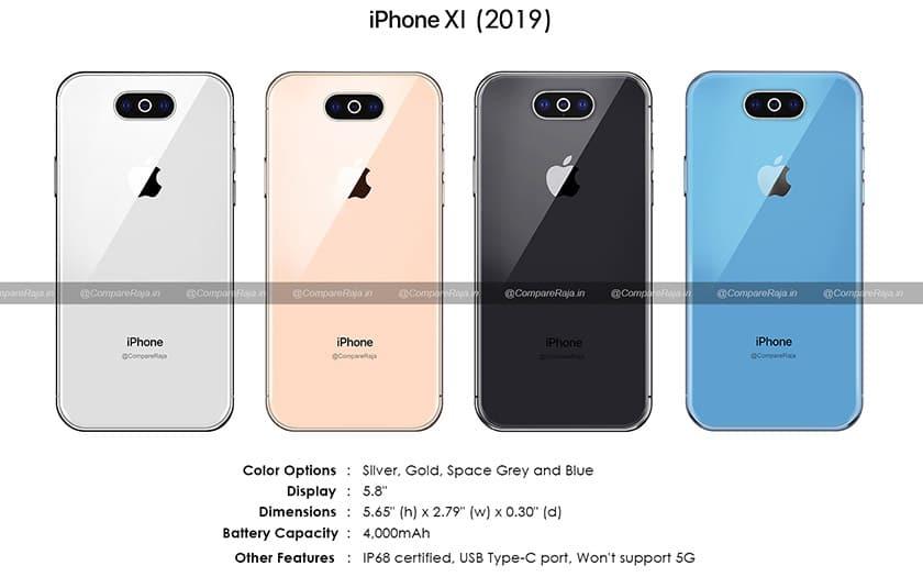 iphone xi usb c batterie fiche technique