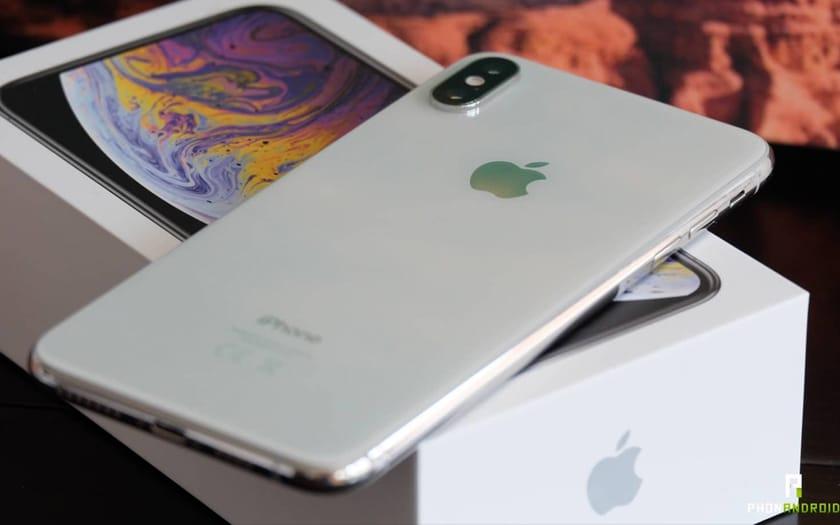 Un iPhone XS Max
