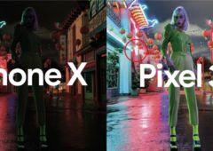 iphone xs pixel 3 photo