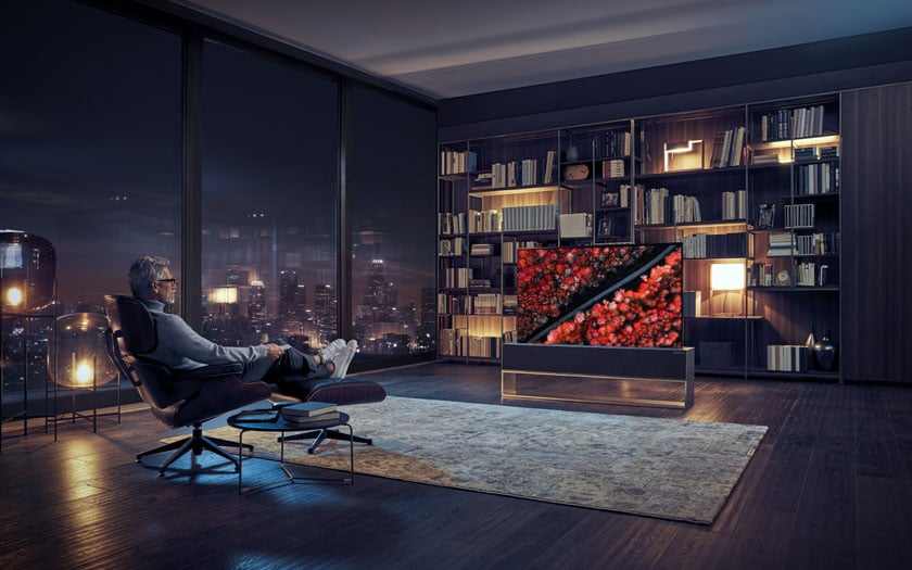 LG Introduces the World's First Rollable OLED TV - TELES RELAY