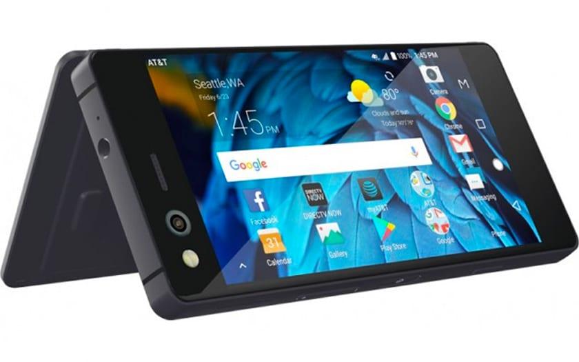 LG pourrait lancer un smartphone pliable façon ZTE Axon M