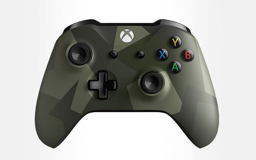 manette xbox one sans fil edition speciale armed forces 2