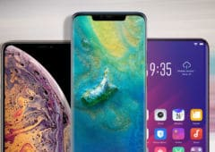 mate 20 pro iphone xs max oppo find x fragiles 2018