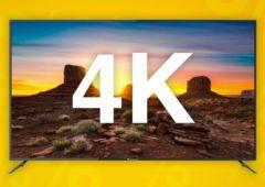meilleures tv 4k soldes hiver