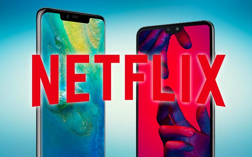 Netflix HD et HDR arrivent sur le Mate 20 Pro et le P20 Pro