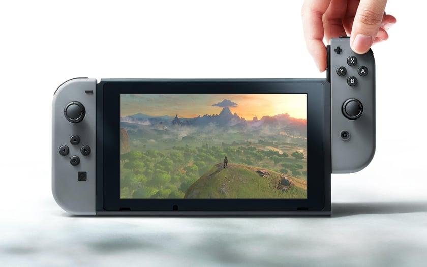 Mise à jour de la Nintendo Switch