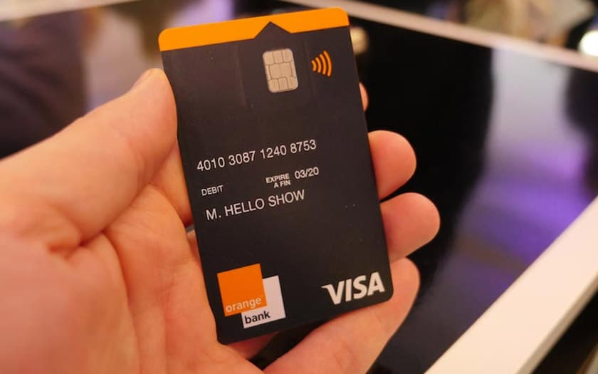 orange bank carte visa premium