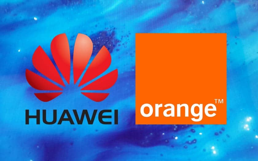 orange huawei