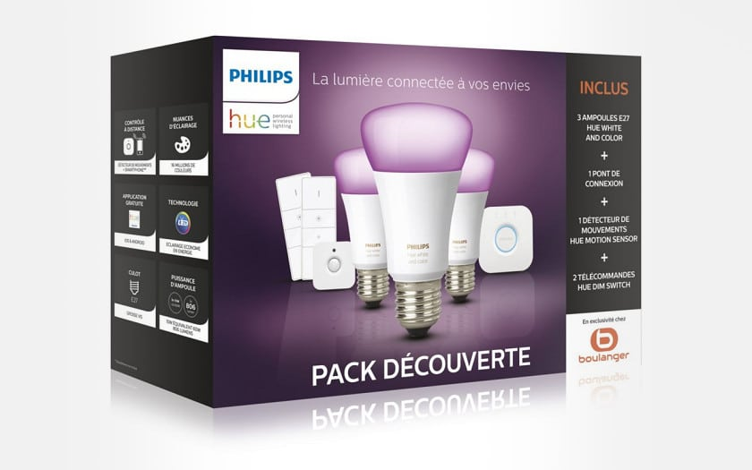 philips hue kit de demarrage